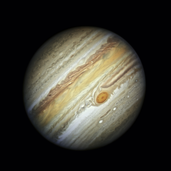 A Close-Up Look at Jupiter's Dynamic Atmosphere